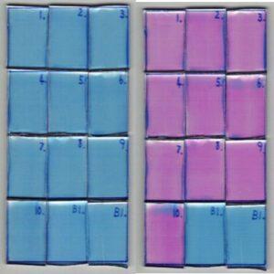 Rapid colorimetric photocatalytic activity test